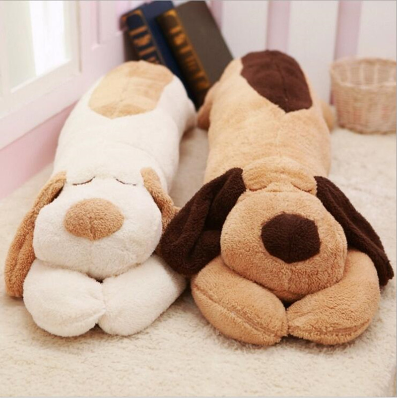 1pcs 110cm/43inch Ultra Stripe Plush Toy Giant Papa Dog Stuffed Doll Cute Pillow Creative Dolls Free Shipping Juguetes Brinquedo 30cm plush toy stuffed toy high quality goofy dog goofy toy lovey cute doll gift for children free shipping