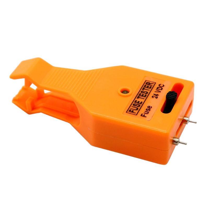 VODOOL Mini Portable Multifunctional DC 24V Automotive Car MAXI ATO/ATC ATM Blade Fuse Tester Checker Puller Removal Tool