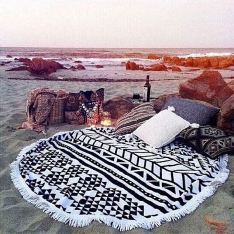 Indian Mandala Bohemia Tapestry Wall Hanging Peacock Printed Beach Throw Mat Yoga Tasse Mat Table Cloth Bedding