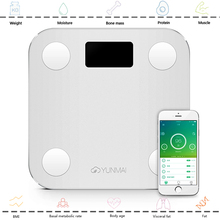 mini smart weighing scale digital scale Body fat scale health scale support Android4.3 IOS7.0 Bluetooth 4.0