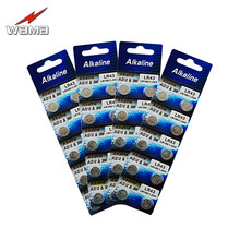 40pcs/4pack AG12 1.55V Alkaline Button Cell Batteries LR43 386A SR43 186 LR1142 Electronics Watches Toys Coin Battery