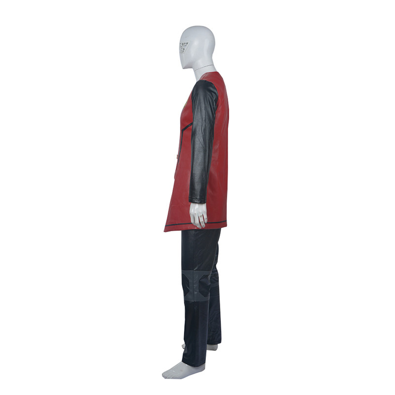 New! Young Justice Robin Cosplay Costume Outfit Customized Hallowmas