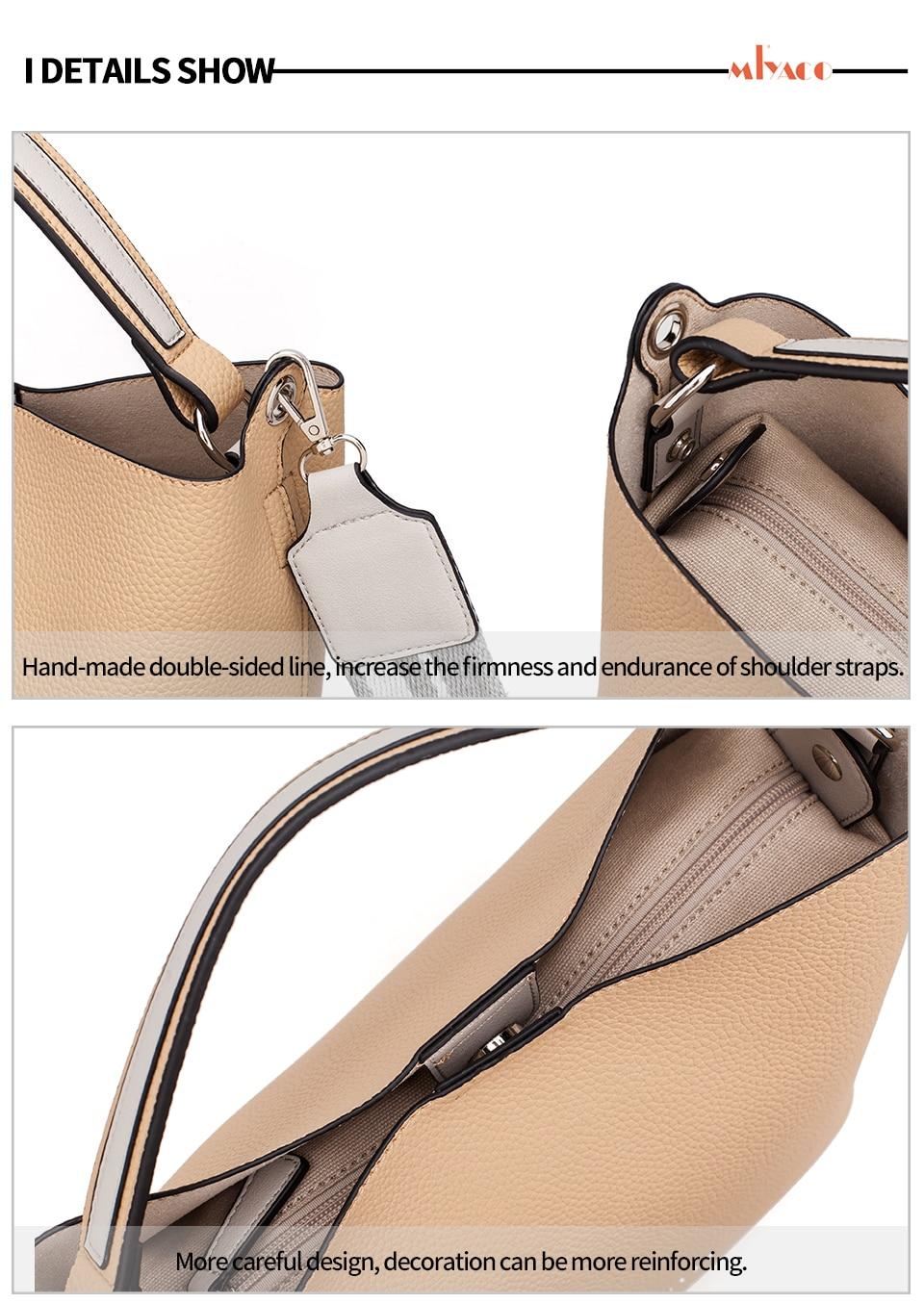 superior bolsas conjunto com saco de lona interna