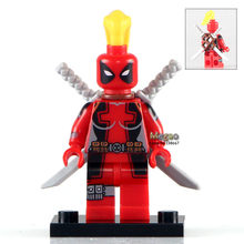 WM211 Gallery Lady Deadpool Single Sale Custom She-Deadpool Marvel Super Hero Building Blocks Set Model Toy for Children(China)