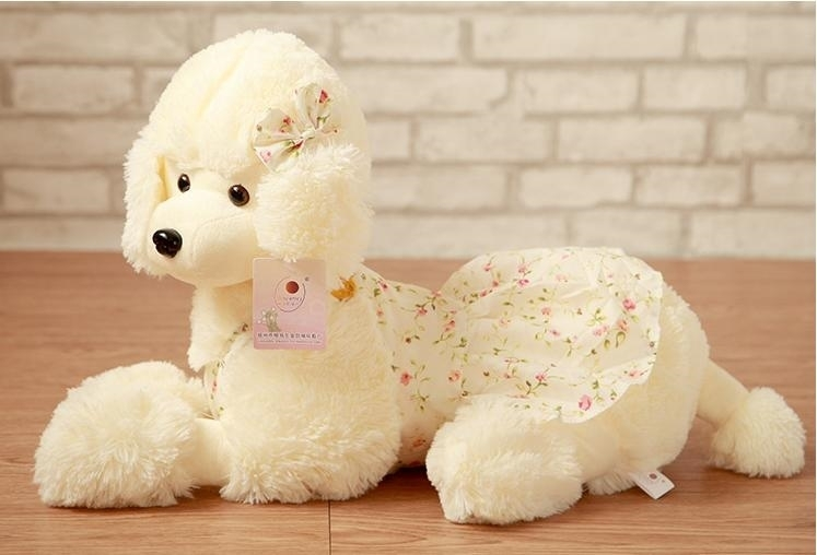 about 35cm toy poodle plush toy shepherd dog skirt poodle doll gift w4409 lole брки lsw1356 dash pants s black