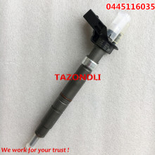 Original e novo Injector Common rail 0445116035, 0445116034, 0 445 116 035 0 445 116 034 para VVVW 03L130277C 03L 130 277C