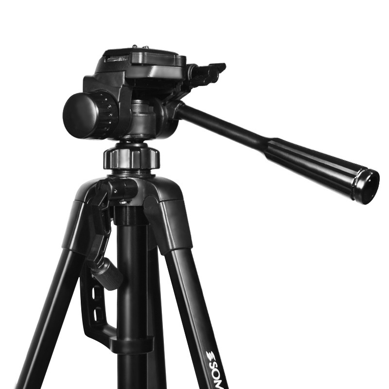 Light Mobile Phone Camera Live Video Tripod Extension for Canon Nikon Sony DSLR Lamp Stand Clamp Mount Head Holder Selfie Stick (3)