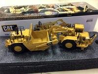 CATERPILLAR CAT 657 г колесный трактор скребок 1/50 литья под давлением мастеров 85175