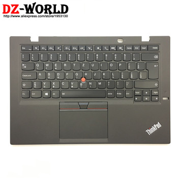 SK New/Orig for Thinkpad X1 Carbon 3rd Gen 20BS 20BT Slovakia Backlit Keyboard with Palmrest Touchpad 00HT324 00HN969 SM20G18629