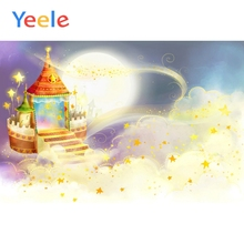 Yeele Wonderland Cartoon Dreamy Magical Poster Scene Baby Photography Background Children Photographic Backdrop For Photo Studio