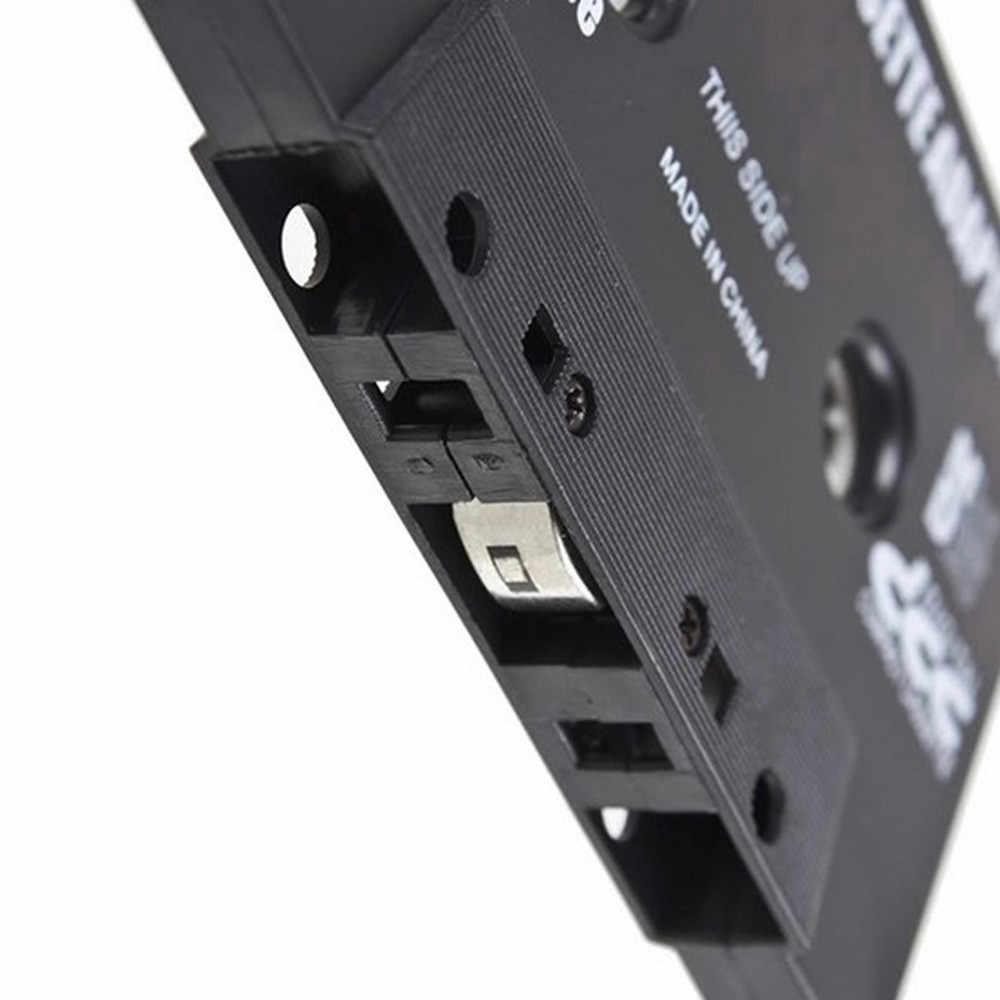 1 PC voiture style voiture Audio Cassette stéréo bande convertisseur 3.5mm pour iphone pour Samsung MP3 Smartphone noir en gros