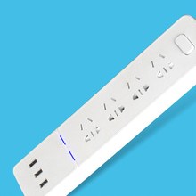 Original smart power socket portable plug adapter with 3 USB ports Multi-function smart home socket