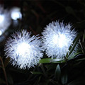 Super 50 LED de Secuencia de Hadas Solar Bombilla LED de Luz Para El Banquete de Boda de Navidad Decoración de Jardín 170105