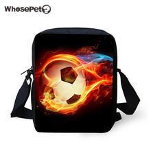 WHOSEPET 2018 New Ball Cross Body Messenger Bag Men Satchel Crossbody Shoulder Bag School Bags for Children Mini Postbag Cool