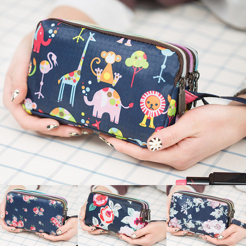 1 Pcs Women Lady Wallet Purse Zipper Fashion Durable For Mobile Phone Coin Money MSJ99