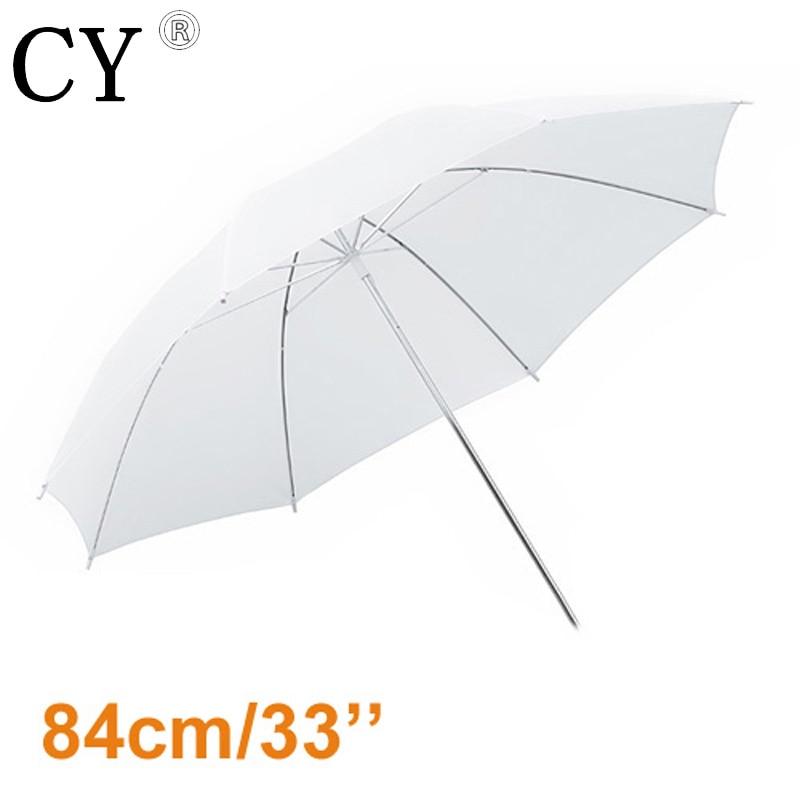 10pcs 33/83cm White Translucent Photography Umbrella studio umbrella soft light umbrella photography umbrella PSCU3A-10