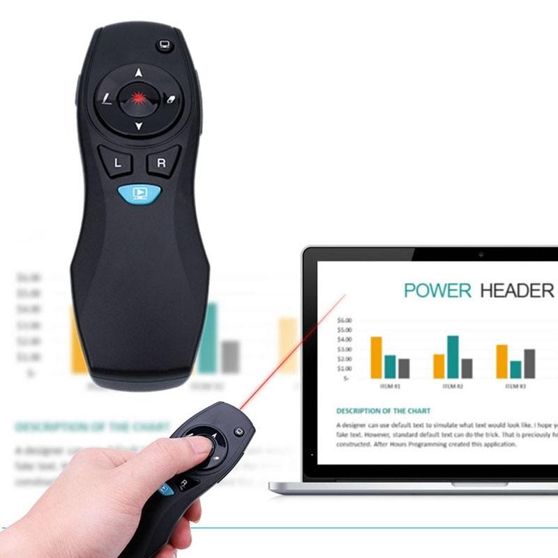 Wireless PPT Presentation Remote Control Air Mouse Laser Presenter Pointer Pen hot sem fio ppt apresenta o apresentador ponteiro цены