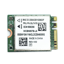 Broadcom BCM94356Z Wireless-AC NGFF FRU:00JT478 Wifi 802.11ac 867Mbps Bluetooth BT 4.1 Wlan Network Card For IBM/Lenovo