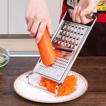 Kitchen Multi-Function Carrot Potato Shredder Stainless Steel Vegetable Silk Slicer Cutter Cookings Tool Gadgets