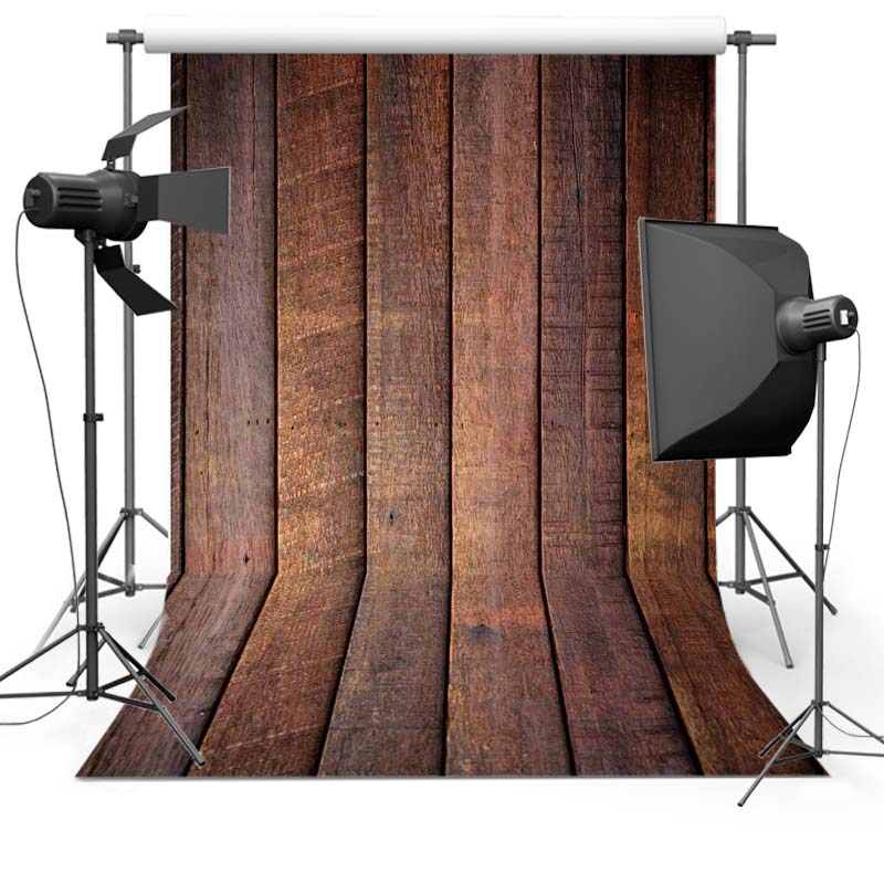 free shipping Thin vinyl cloth photography backgrounds wooden computer Printing newborn backdrops for photo studio Floor-571 wooden floor and brick wall photography backdrops computer printing thin vinyl background for photo studio s 1120