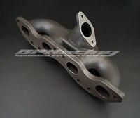 cast iron turbo exhaust manifold for REV9 S13 S14 S15 240SX SR20DET /