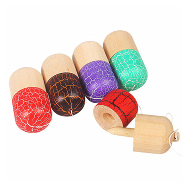 Open-Minded Kid Kendama Toys 11cm Rosewood Cherry Skillful Juggling Ball Game Toy Sword Ball Children Adult Birthday Gifts Outdoor Sports Moderate Price Outdoor Fun & Sports