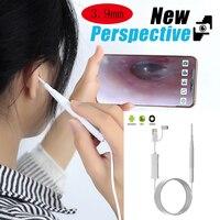 3.9mm lente médica endoscópio câmera mini à prova dusb água usb endoscópio inspeção câmera para otg android telefone pc orelha nariz borscope|Boroscópios| |  -