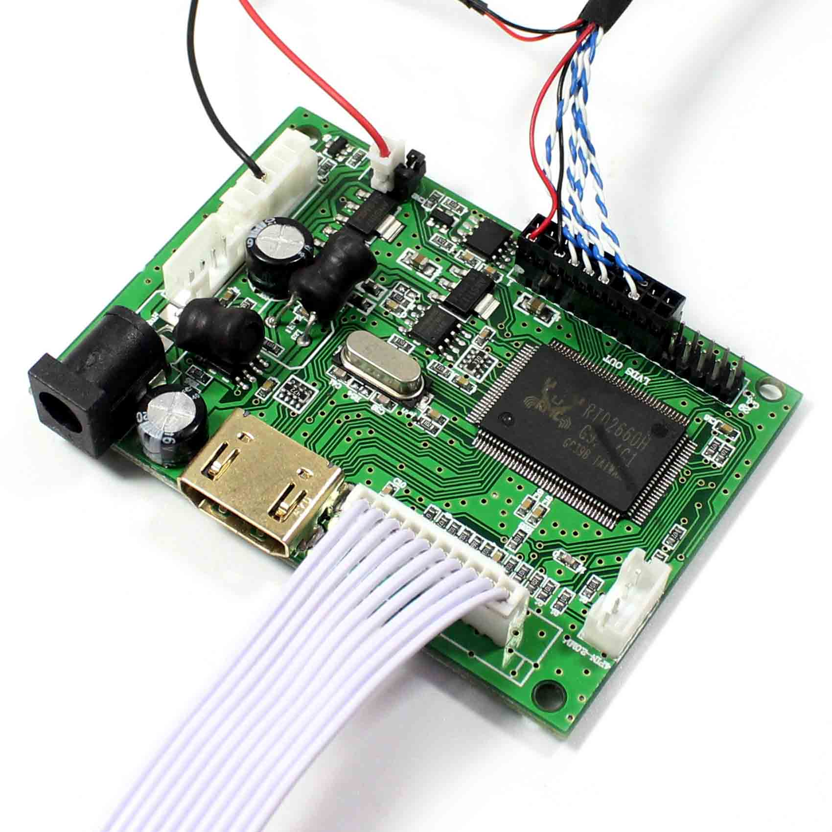 HDMI  Controller Board VS-TY2660H-V1+5inch ZJ050NA-08C replacement AT050TN22 640x480 Lcd