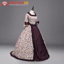 High Quality Renaissance Georgian Gothic Dress Gown Steampunk Reenactment Theatrical Costume