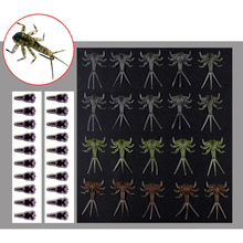 Wifreo 20 шт. реалистичный Mayfly Nymph мухобойка материал Mayfly кожа форель мухобойка для ловли мухобойка Размер 12 14 крючок насекомое приманка