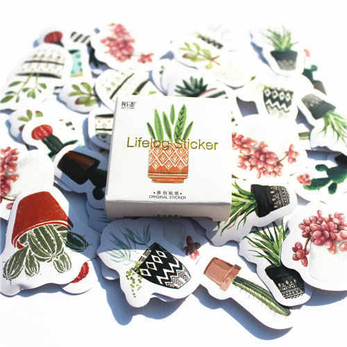 40 unids/set precioso Bloc de notas japonés, diario, paquete de pegatinas, planificador Kawaii, álbum de recortes, material de papelería Escolar, suministros escolares