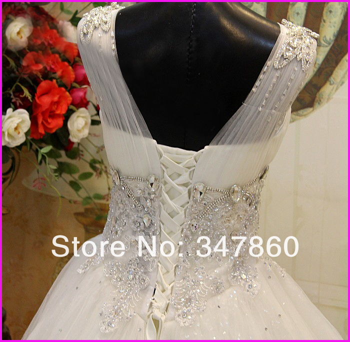 Sexy Bling Bling Sweetheart Embroidery Beaded Crystal Diamond Chapel ... 03449ee9b337