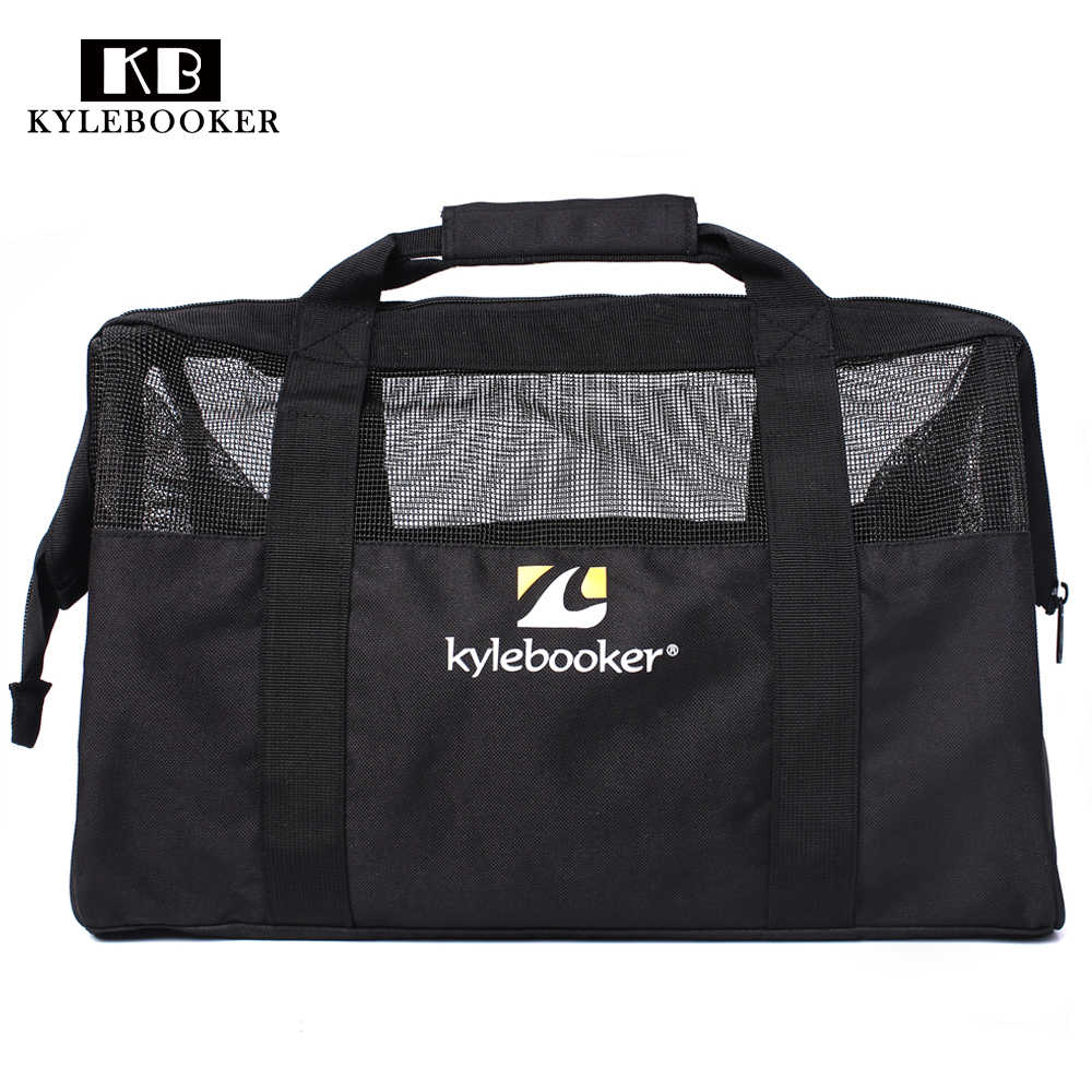 Outdoor  Gym Bag  Fishing  Hunting Wader Bag Chest Waders and Wading Boots shoes Storage Bag hand  Mesh  bags