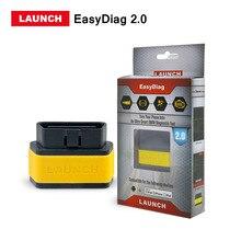 Nouvelle Arrivée Lancement X431 EasyDiag 2.0 OBD2 outil de diagnostic Pour Android IOS Facile Diag 2.0 Support moteur/ABS/SRS/transmission