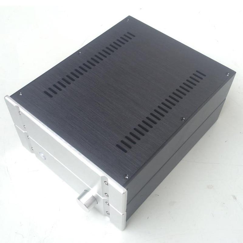 2607B Aluminum enclosure Preamp chassis Power font b amplifier b font case box size 260 70