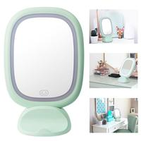 Rectangle LED Makeup Cosmetic Mirror Night Light Adjustable Table Reading Lamp fashion