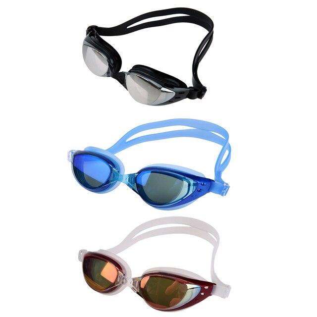 0a12e23b649d1 Adultos Anti-nevoeiro óculos de Proteção UV óculos de Natação Das Mulheres  Dos Homens 3D