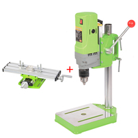 Mini Bench Drill Press 710W Bench Drilling Machine Variable Speed Drilling Chuck 1 13mm For DIY Wood Metal Electric + Vise Table