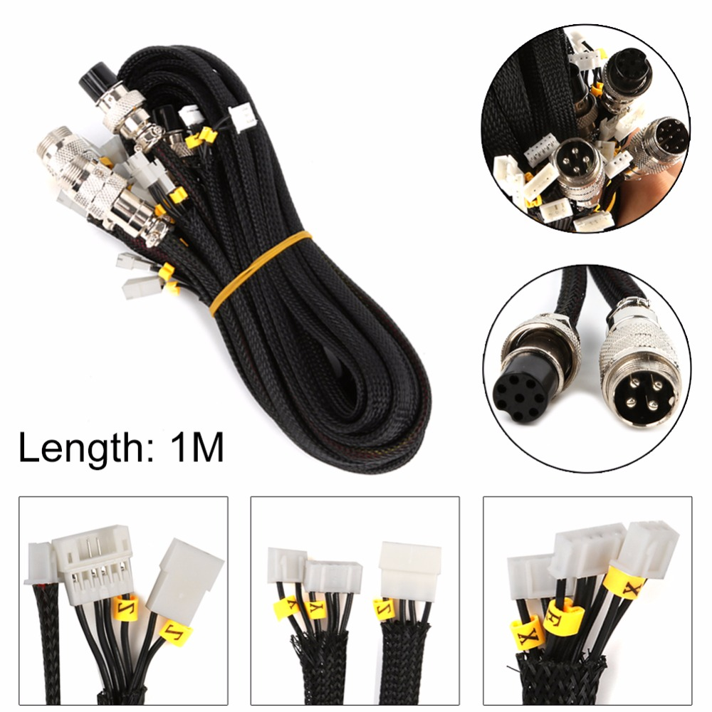 Image 2 - Newest UpgradeCable Creality 3D Printer Parts Extension Cable Kit for CR 10 10S/S4/S5 CREALITY 3D Printer Accessories Part3D Printer Parts & Accessories   -
