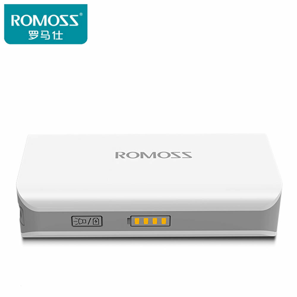 Цена за Оригинального ROMOSS 5000 SENSE2S Power Bank sense2s 5000 мАч power bank Внешняя Батарея для iphone 6 s xiaomi power bank Аккумулятор