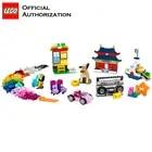 LEGO 583 pcs Klassieke Speelgoed Stapelen Blokken Doos Kinderen Speelgoed Educatief & Leren Lego Building Speelgoed Blocos De Construcao 10702 - 2