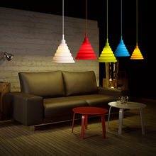 Lámpara colgante moderna, creativa, personal, colorida, para restaurante, habitación de los niños, tetera, tienda, decoración del hogar, accesorio de iluminación
