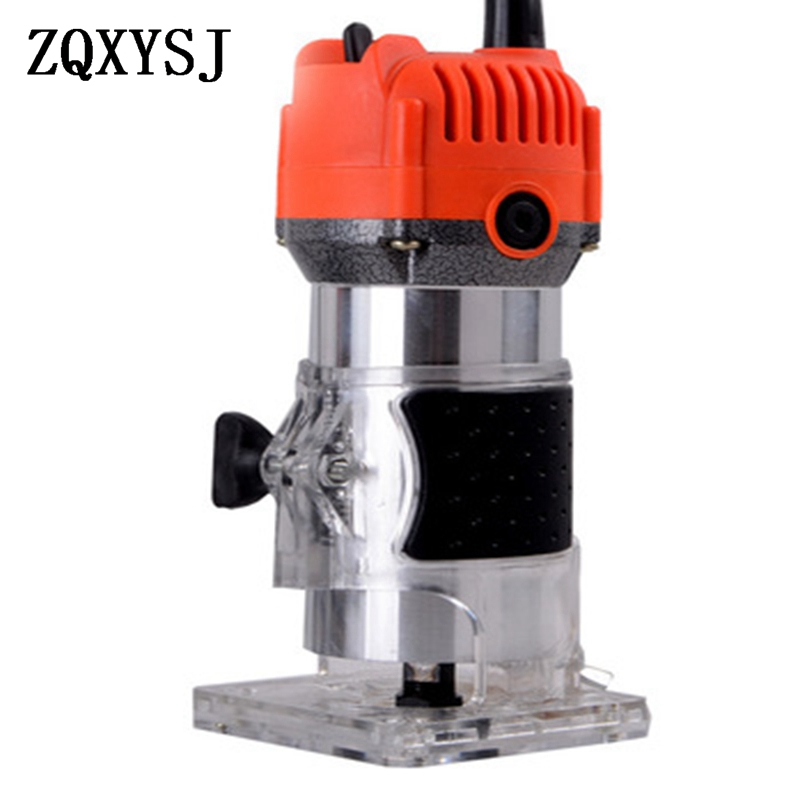 Electric Woodworking Trimming 220v 30000rp Hand Carving Machine Wood Router Trimming Engraving Electric Trimmer DIY Power