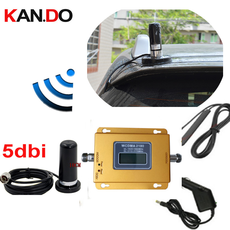 Big Magnet Base Anenna 69dbi 3G 2100mhz WCDMA Mobile Phone Signal Booster 3G Network Signal Repeater 3g Amplifier For Car