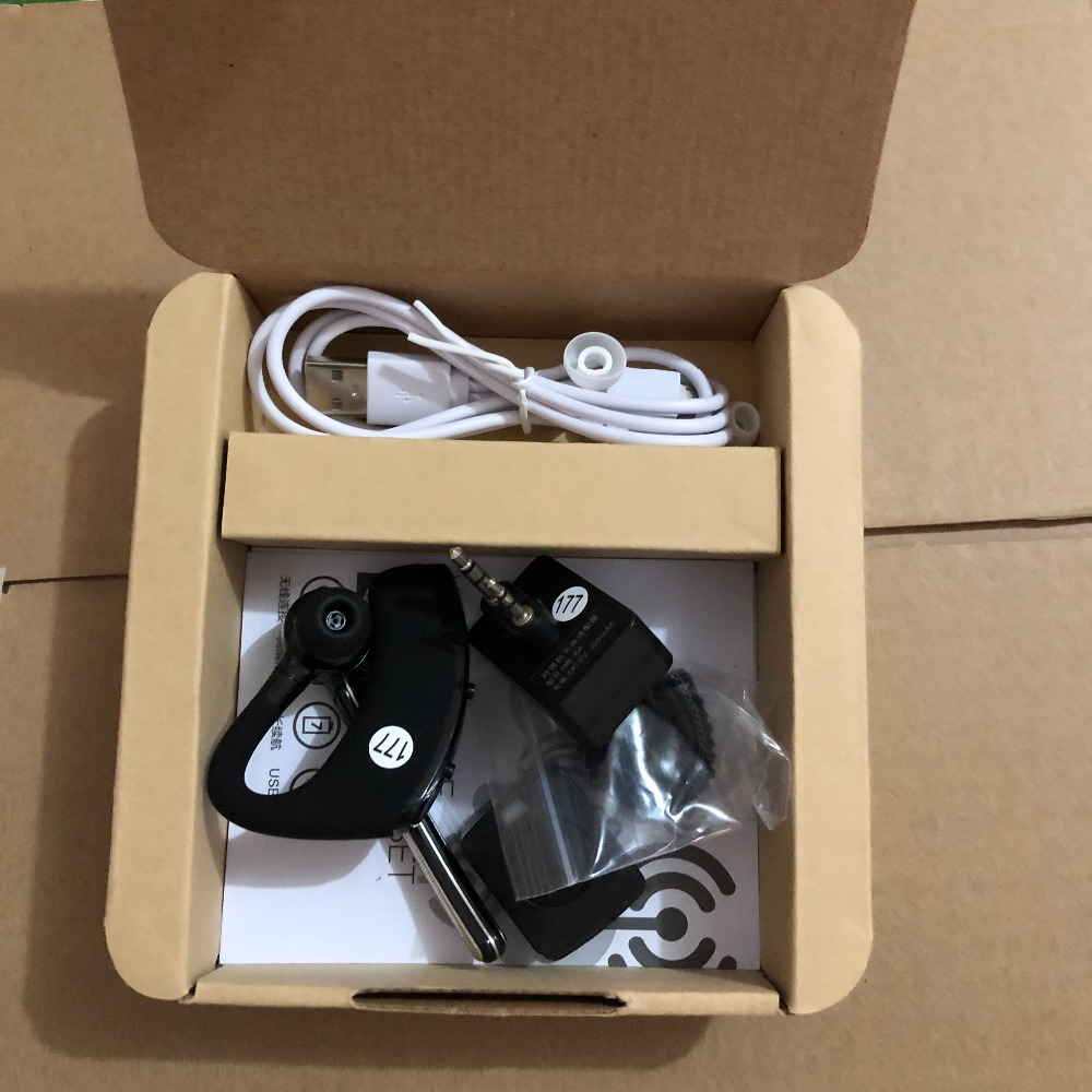 Image 5 - TK port Wireless Hands free Headphone Earphone bluetooth walkie talkie for baofeng UV 5R UV 82 two way radio Accessories-in Walkie Talkie from Cellphones & Telecommunications