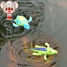 Saizhi заводные Классические игрушки ABS пластик Черепаха/крокодил может плавать животное унисекс заводная Весенняя игрушка для детей SZ1904
