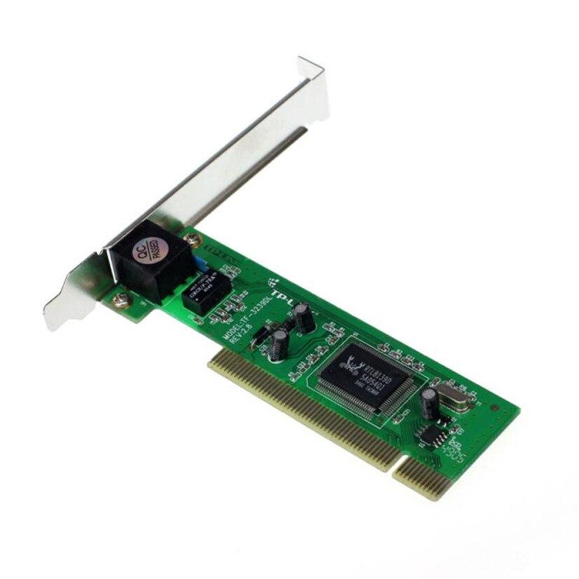 Цена завода новый 10/100 Мбит/с NIC RJ45 RTL8139D локальной сети Платы PCI адаптер для компьютера PC Mfeb14