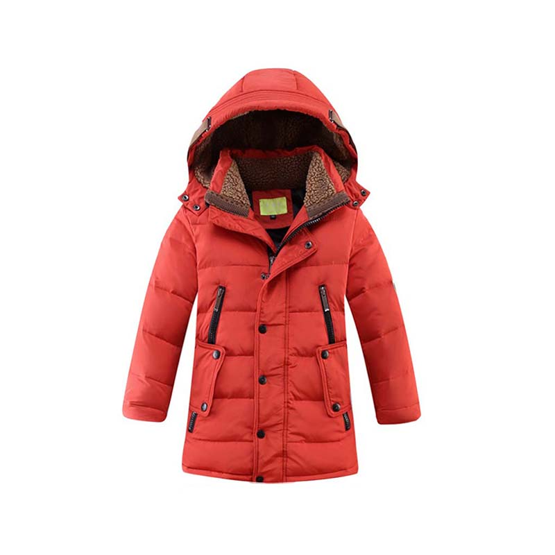 New 130-170cm Children's Clothing Outerwear & Coat Jacket for Boys Kids Parka Winter Cotton-Padded Snowsuit Children Warm Wear children winter coats jacket baby boys warm outerwear thickening outdoors kids snow proof coat parkas cotton padded clothes