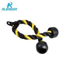 цена ALBREDA Resistance Bands Training Fitness Equipment Training belt Band for Body Shaping  Exercise straps sport Training Rope