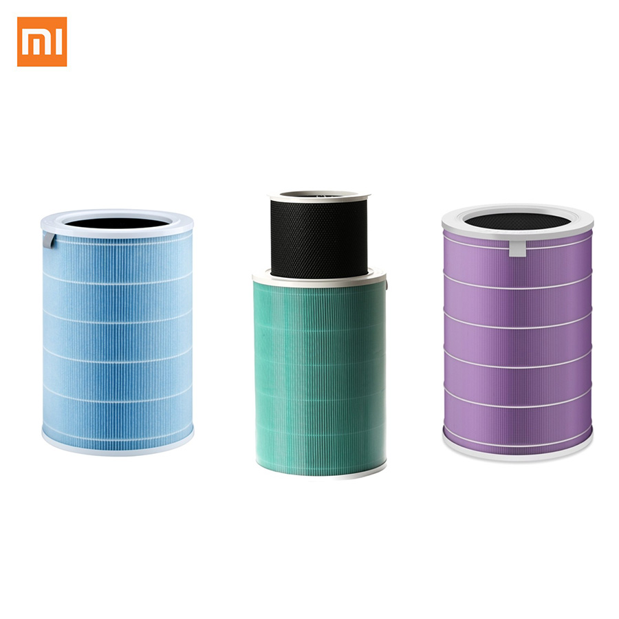 Original Xiaomi Air Purifier 2 / 1 / Pro Filter Air Cleaner Filter smart Removing HCHO Formaldehyde /Antibacterial Version original xiaomi smart mi air purifier air cleaner